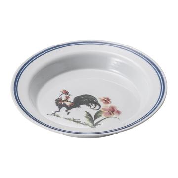 Melamine Blue and White Tableware/Melamine Deep Plate/Dinnerware (D5210)