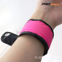 Reflective+Pink+Woven+Fabrics+Sport+Arm+Band