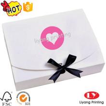 Good quality custom paper flat folding gift boxes