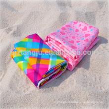 Microfibra impresso toalha de camurça de microfibra toalhas de praia Microfibra toalha impresso (toalha de camurça de microfibra)