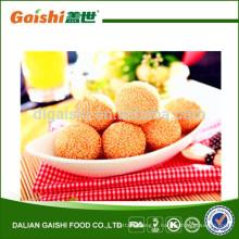 vente chaude délicieux chinois congelé pur sésame balle