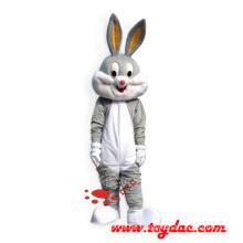 Plüsch Kaninchen Maskottchen Kostüm