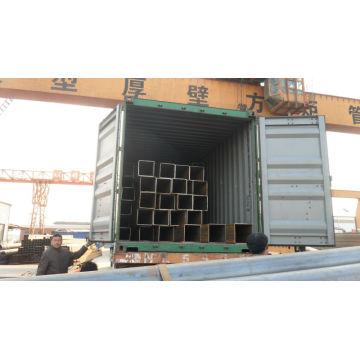 Мс Квадратные трубы / Трубы с полой секцией ASTM A500 экспорт в Дубаи
