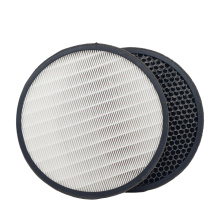 Round shape H13 hepa filter for air purifier