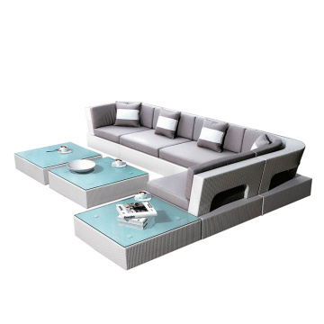 Homebase Rattan Furniture Sofa Set