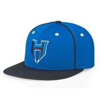 Chapeaux de Snapback brodés par bleu en gros