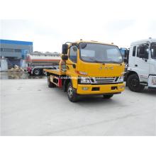 JAC 4x2 Nova condição plana wrecker caminhão de reboque