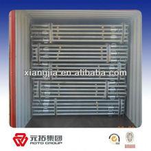 Q345 viguetas de acero ajustables con vigas de acero pintado