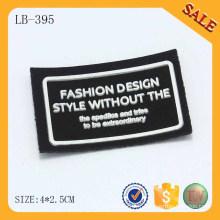 LB395 logo 3D étui en silicone en cuir