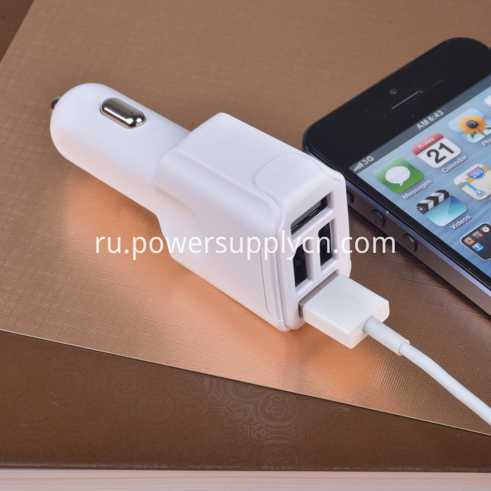 4 usb car charger with QC2.0