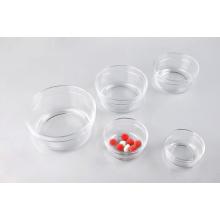 Kitchen Glasswares Glass Sugar Bowl Set with Lid