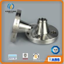 Bride forgée de cou de soudure d'acier inoxydable d'ANSI B16.5 avec TUV (KT0282)