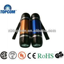 pocket flash light 9led flashlight aluminum