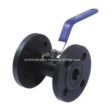 Carbon Steel 1PC Flange Ball Valve