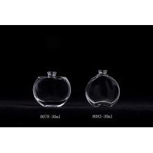 Frascos de vidro para perfume de luxo recarregáveis de 30ml