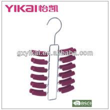 Tie hanger metal with 24 racks factory in Guangxi