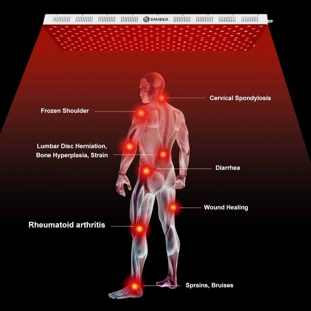 Infrared Light Therapy Device For Pain