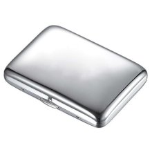 High Quality Custom Stainless Steel Cigarette Case Holder