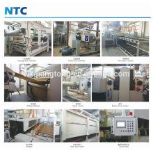 Decorative melamine paper gluing machine / Paper impregnation line