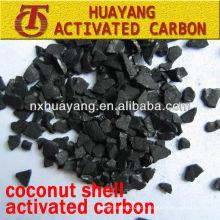 Iodwert 950 mg / g Palm Shell Aktivkohle für Wasser