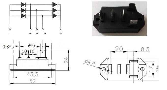 Rectifier Bridge MDS30 (3)