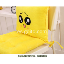 Cute Cartoon Chair Decor Cojín plegable con lazy back