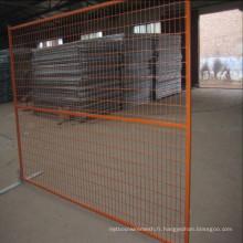 Exportation en usine directe Clôture temporaire Clôture amovible Clôture temporaire