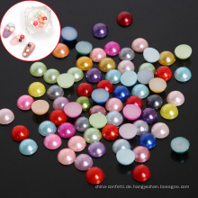 HYYX Holiday Gift Handwerk verschiedene Größen Runde halbe Handarbeit Lose Perlen