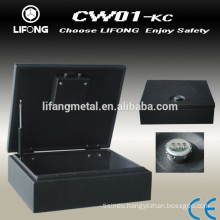2014 New design hidden in car safe box with Top opening