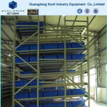 Slide Steel Roller Warehouse Storage Rack