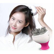 Cabeça de vibração elétrica massageador de couro cabeludo