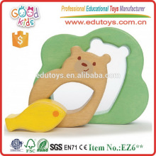 Hot Selling Children Intelligent Toy Wooden Bear Jigsaw Puzzle Games