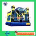 Novo estilo americano herói inflável bouncer bouncy castelo para crianças