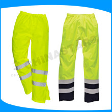 ANSI / ISEA 107-2010 Clase E pantalones de seguridad reflectantes de alta visibilidad