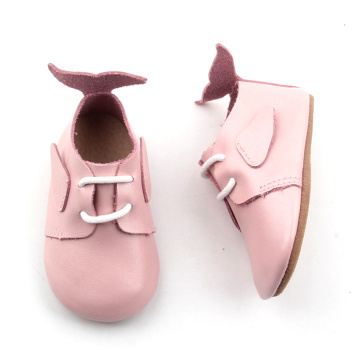 Fesyen Borong Soft Sole Tail Baby Oxford Shoes