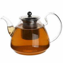 Handmade Borosilicate Glass Teapot to Cooking Tea