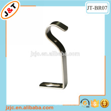 Venta caliente popular cortina barra de pared de metal soporte