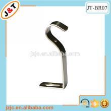 hot sales popular curtain rod wall metal bracket