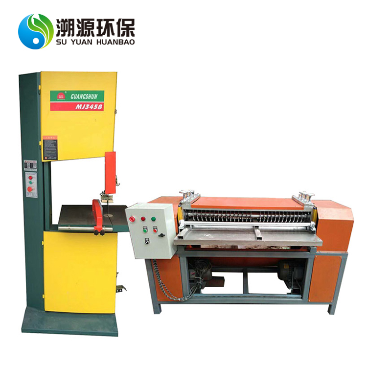 ac radiator crusher