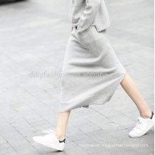 2016 Winter laldies fashionable cashmere knitting pattern wrap skirt