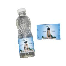 Custom Printed Wrap Packaging Label Shrink Bands PVC Shrink Sleeve Label for Mineral Water Bottle