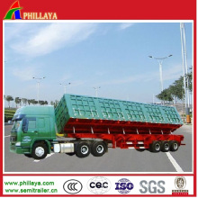 Heavy Truck Hydraulic Tipping Side Dump Trailer (PLY9825CXX)