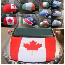 Capa do motor Custom Design Car Hood Flag