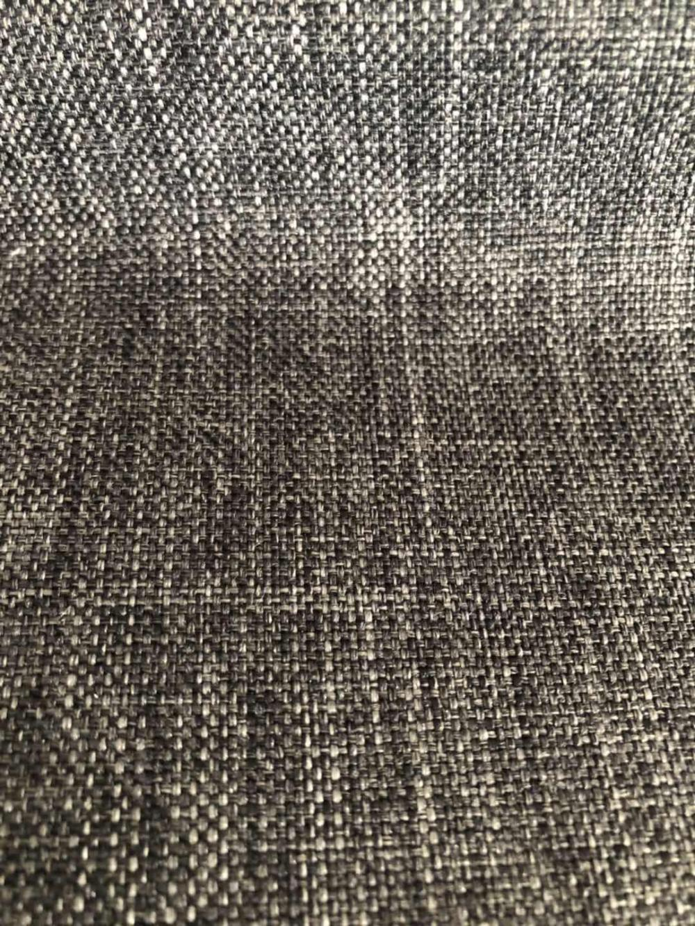OEM Furniture Velour Upholstery Linen Sofa Fabric