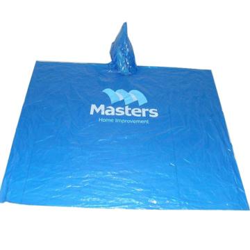 Рекламное одноразовое дождевое пончо с индивидуальным логотипом