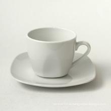 Juego de taza de café de porcelana, estilo # 849