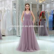 2017 new fashion factory supply spaghetti floor length strap sweet heart neck popular evening party dress school girls sex photo