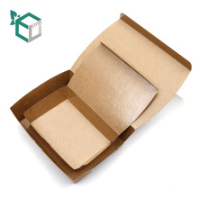 Food grade material kraft paperboard made food take out cheap container food box