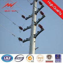11m 15m caliente galvanizado en postes de acero