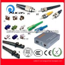 Solución de fibra óptica